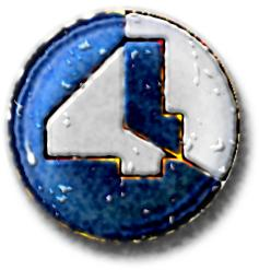 four am logo - bottle top design
